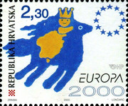[EUROPA Stamps - Tower of 6 Stars, type QN]