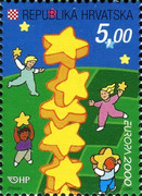 [EUROPA Stamps - Tower of 6 Stars, type QO]
