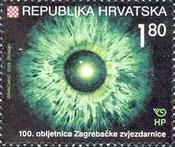 [The 100th Anniversary of Zagreb Astronomical Observatory, type UC]