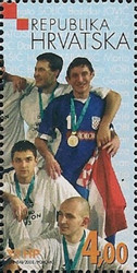 [The World Handball Champions Portugal 2003, type UH]