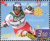 [The Victories of Janica and Ivica Kostelic at the World Cup in Alpine Skiing, St Moritz 2003, type UM]
