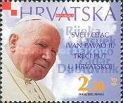 [The Holy Father John Paul II in Croatia for the Third Time, type UW]