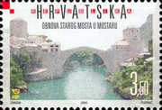 [Reconstruction of the Old Bridge at Mostar, type WF]