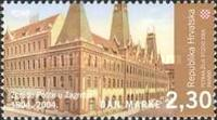 [Postage Stamp Day - The 100th Anniversary of the Post Office Building in Zagreb, type WI]