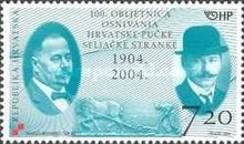 [The 100th Anniversary of the Founding of Croatian People's Peasant Party, type WR]