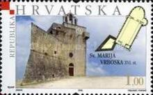 [Towers & Fortresses - Vrboska, The Fortified Church of St Mary of Mercy, type ZV]