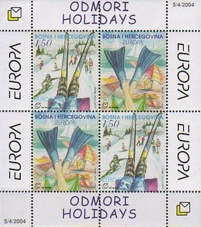 [EUROPA Stamps - Holidays, type ]