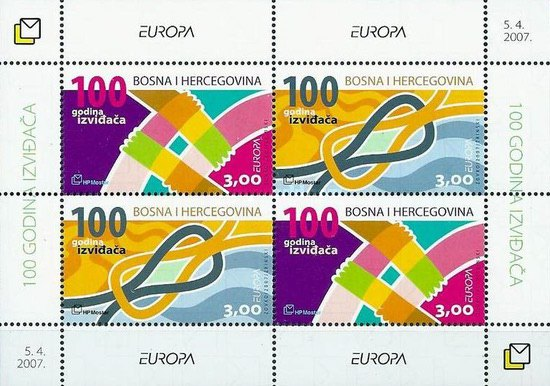 [EUROPA Stamps - The 100th Anniversary of Scouting, type ]