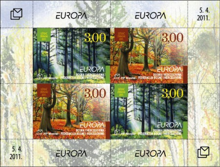 [EUROPA Stamps - The Forest, Typ ]