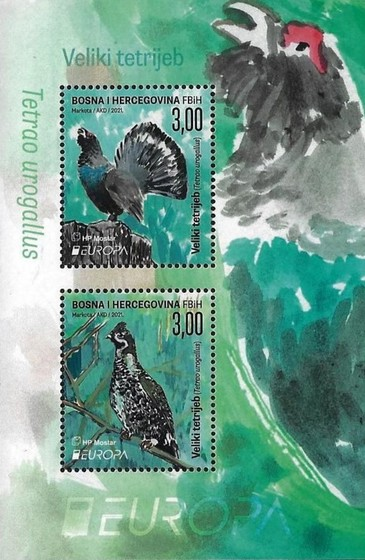 [EUROPA Stamps - Endangered Species, type ]