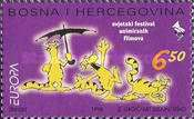 [EUROPA Stamps - Festivals and National Celebrations - World Festival of Animated Films in Zagreb, type AN]