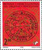 [The 550th Anniversary of Herzegovina, type AO]