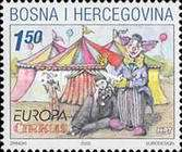 [EUROPA Stamps - The Circus, type CH]