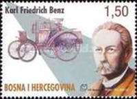 [The 160th Anniversary of the Birth of Karl Friedrich Benz, 1844-1929, type EF]