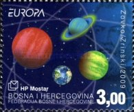 [EUROPA Stamps - Astronomy, type IT]
