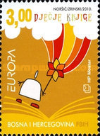 [EUROPA Stamps - Children's Books, Typ JW]