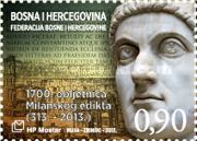 [The 1700th Anniversary of the Edict of Milan, type MP]