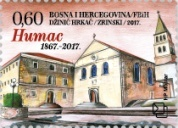 [The 150th Anniversary of the Franciscan Monastery Reconstruction on Humac, type QB]