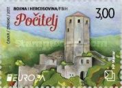 [EUROPA Stamps -  Palaces and Castles, type QD]