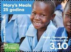 [Humanitarian Organization - The 25th Anniversary of Mary's Meals, type QO]