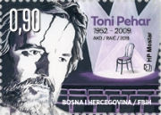 [The 10th Anniversary of the Death of Toni Pehar, 1952-2009, type SD]