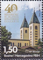 [The 40th Anniversary of the Apparitions in Medugorje, type UN]