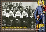 [International Literacy Day - The 150th Anniversary of the Society of Sisters of St. Vinko Paulski in B&H, type UQ]