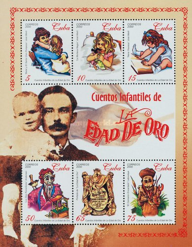 [The Golden Age - Children's Magazine by Jose Marti - Smaller Size and Different Perforation, type ]