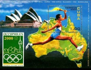 [International Stamp Exhibition Olymphilex 2000 - Sydney, Australia, type ]