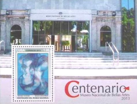 [The 100th Anniversary of the National Museum of Fine Arts of Havana, type ]