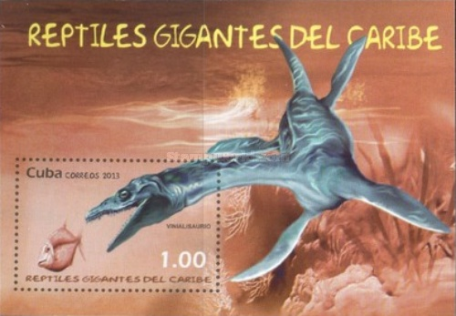 [Prehistoric Animals - Gigant Reptilies of  the Caribbean, type ]