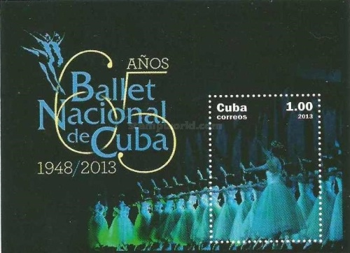 [The 65th Anniversary of the Cuban National Ballet, type ]