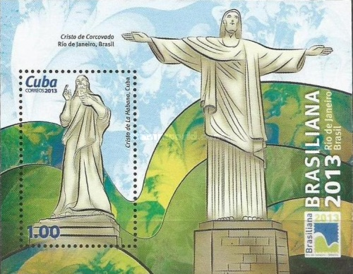 [World Stamp Exhibition BRASILIANA 2013, type ]