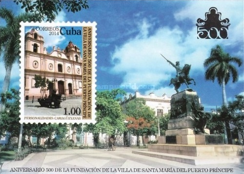 [The 500th Anniversary of the City of Puerto Principe, type ]