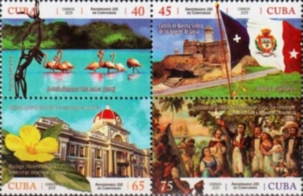 [The 200th Anniversary of the City of Cienfuegos, type ]