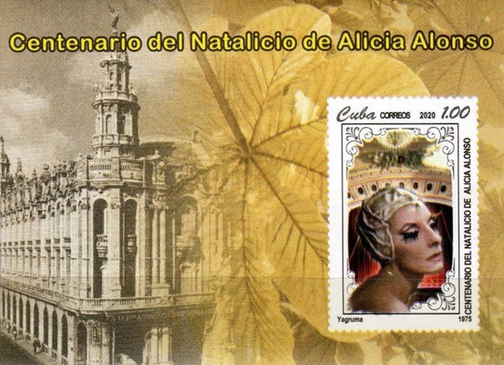 [The 100th Anniversary of the Birth of Alicia Alonso, 1920-2019, type ]
