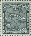 [Map of Cuba, type AR9]