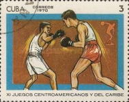 [The 11th Central American and Caribbean Games, type BIS]
