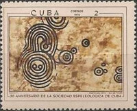 [The 30th Anniversary of The Cuban Speleological Society, type BKE]