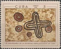 [The 30th Anniversary of The Cuban Speleological Society, type BKH]