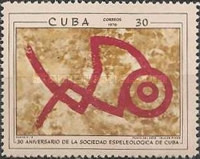 [The 30th Anniversary of The Cuban Speleological Society, type BKK]