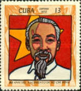 [The 80th Anniversary of the Birth of Ho Chi Minh, North Vietnamese Leader, type BLG]