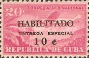 [Express Stamps - Stamps of 1931 Surcharged