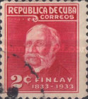 [The 100st Anniversary of the Birth of C. J. Finlay - Yellow-fever Researcher, type CA]