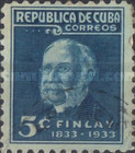 [The 100st Anniversary of the Birth of C. J. Finlay - Yellow-fever Researcher, type CA1]