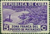 [Airmail - Opening of the Free Zone of the Port of Matanzas, type CL]