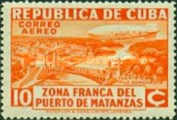 [Airmail - Opening of the Free Zone of the Port of Matanzas, type CM]