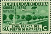 [Airmail - Opening of the Free Zone of the Port of Matanzas, type CN]