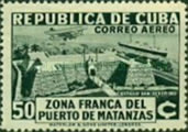 [Airmail - Opening of the Free Zone of the Port of Matanzas, type CO]