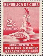 [Inauguration of the Gomez Monument, type CU]